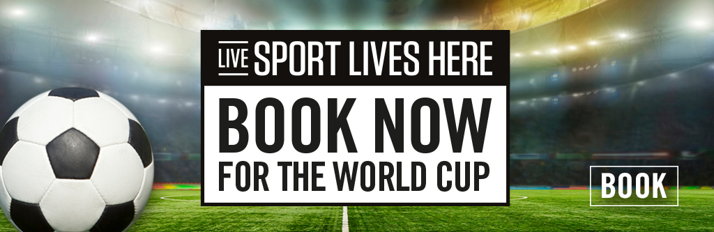 World Cup Book Now