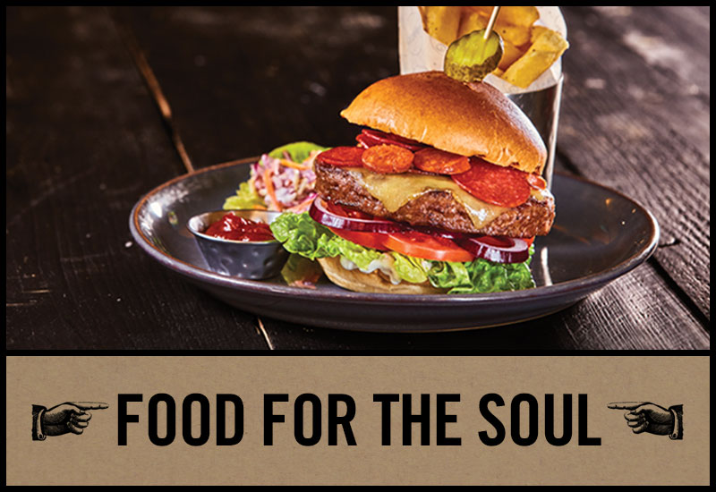 Food for the soul at The Duke of Wellington
