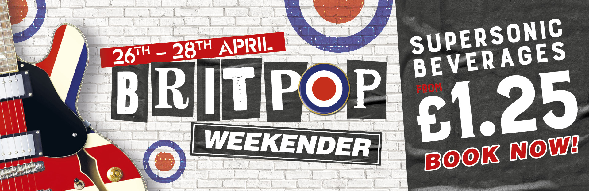 Britpop Weekender at The Duke of Wellington